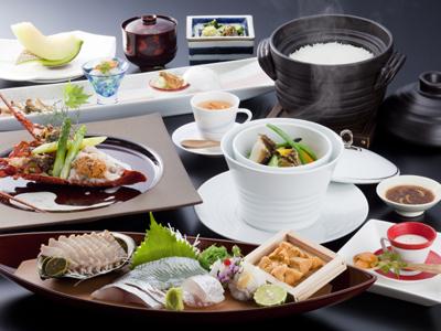 赤雲丹と黒鮑のシンフォニー(料理イメージ)
