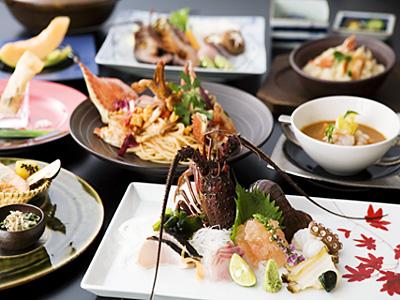 海老・蟹づくしコース(料理イメージ)