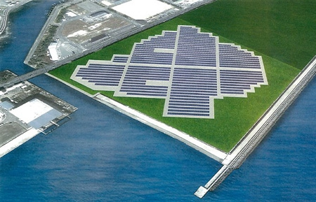 大規模太陽光発電所(メガソーラー)建設のお知らせ