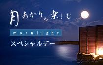 月明かりを楽しむ