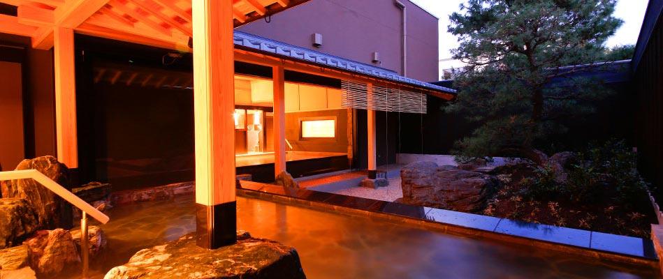 温泉大浴場「庭の湯」